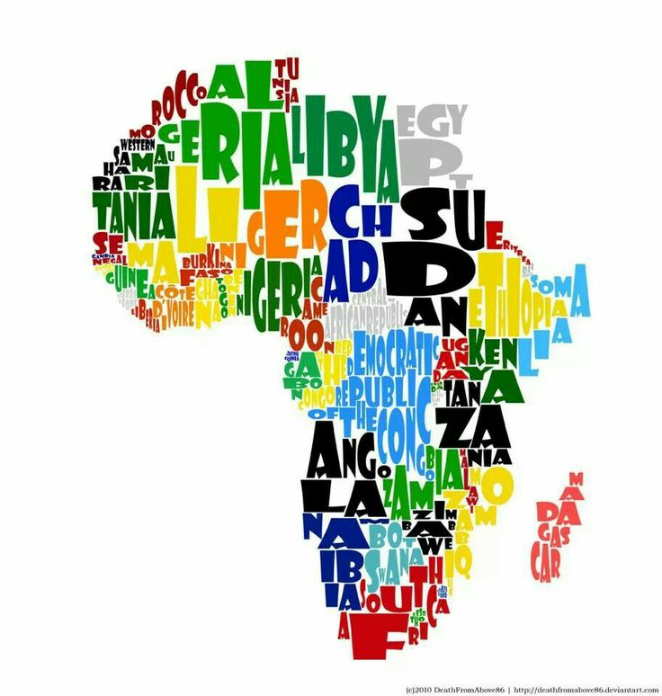 88 best Africa I Love images on Pinterest African dress, African - copy world map africa continent