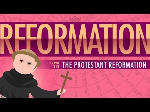 John Green's tumblr • A surprisingly insightful look at the Protestant Reformation from John Green.