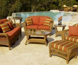 Find This Pin And More On Wicker Furniture. Replacement Cushions For Outdoor  ...