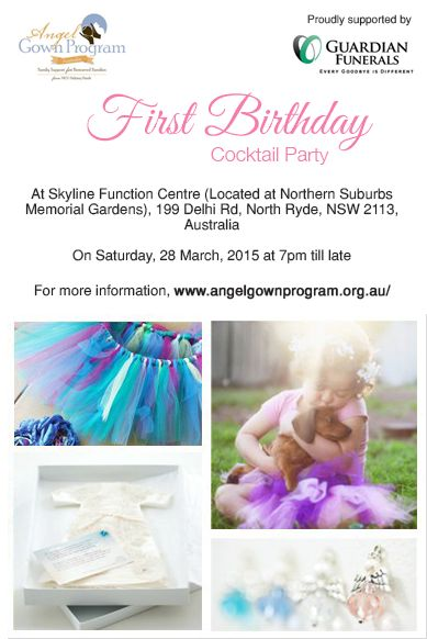 We are so proud to announce the first birthday of our charitable partner, NICU Helping Hands Angel Gown Program and Tutu Program.