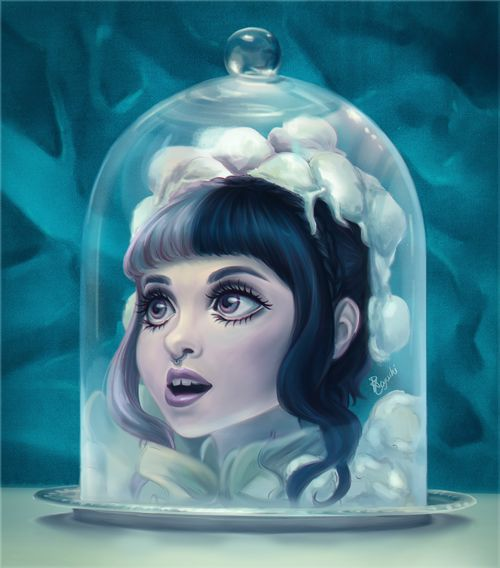 | Melanie Martinez, Tag, You're It/Milk and Cookies, double feature music video inspired fan art |
