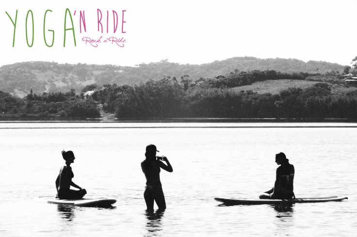 Yoga sup chillout moments www.yoganride.com