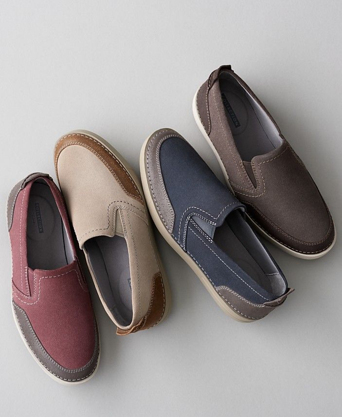 Mens casual shoes, Slip