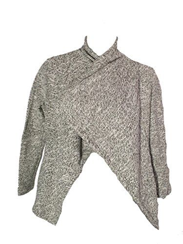 BNCI by Blanc Noir Ladies' Wool Blend Cardigan, Black/White, Small  Special Offer: $7.21  400 Reviews Features: Tweed Fabric Colors: White/Black (Gray), Green/Black (Green), and Black/White (Black) Long sleeves Imported Content: Exclusive of decoration Care Instructions: Machine wash...