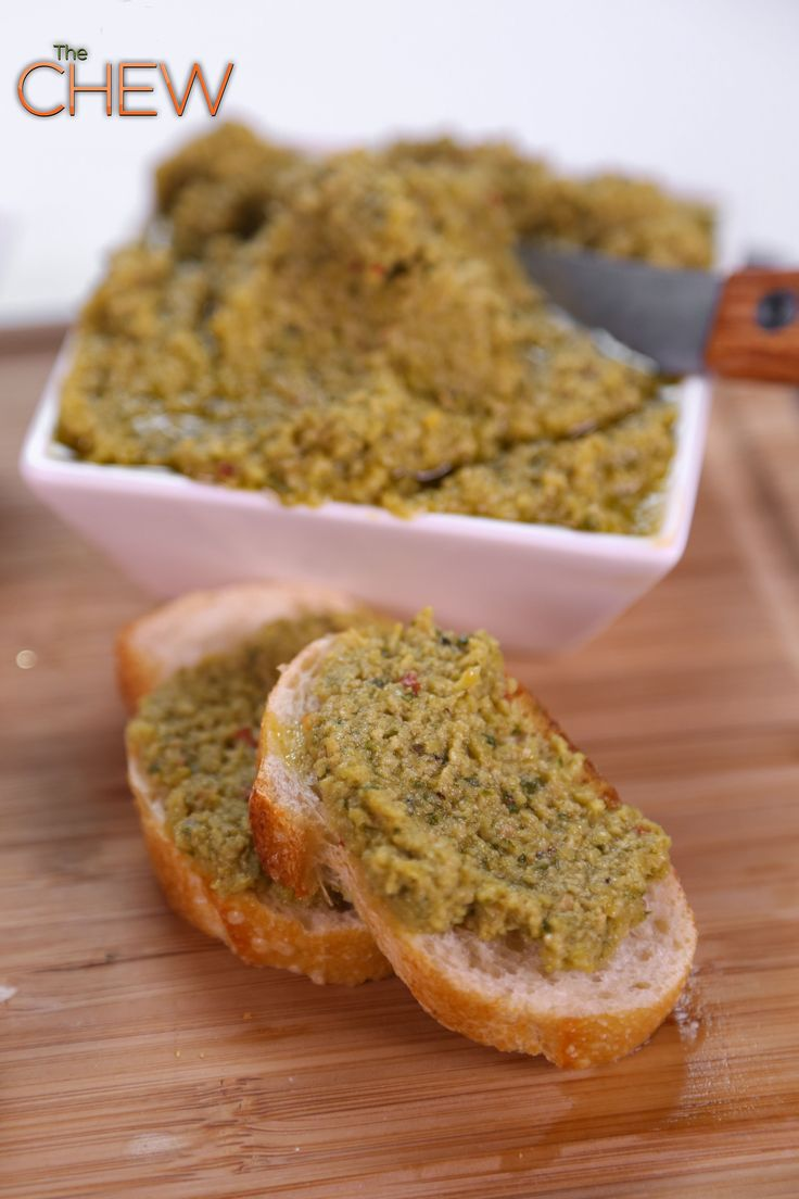 Clinton Kelly's Olive Tapenade recipe #thechew