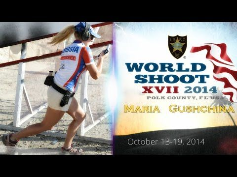 Maria Guschina - IPSC World Champion 2014