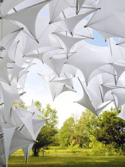 This is fabulous. #tensile #installation