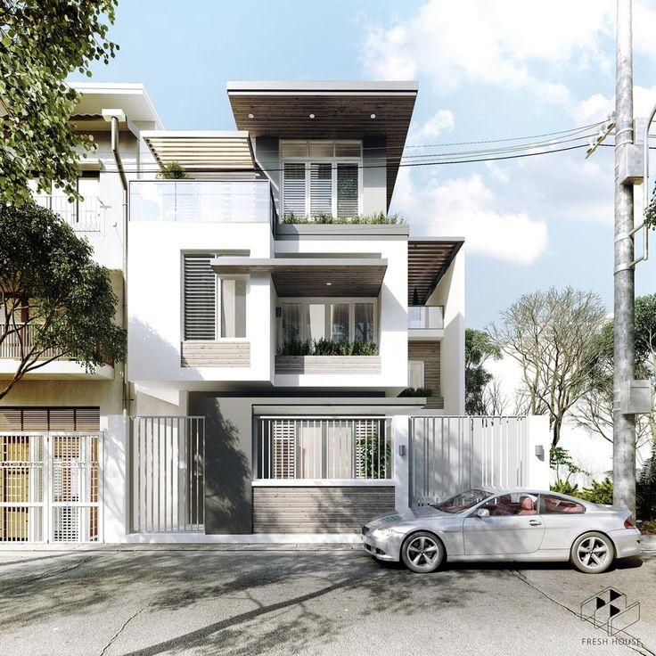 25 Modern Home Exteriors Design Ideas: Best 25+ Tropical House Design Ideas On Pinterest