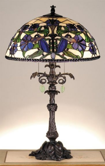 Meyda Tiffany Stained glass Lamp
