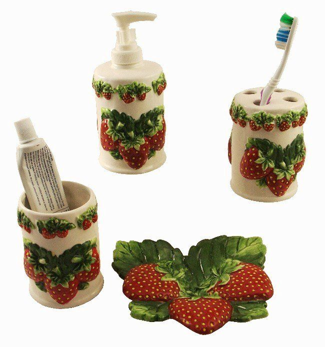 1000 images about strawberry kitchen on pinterest - Strawberry kitchen decorations ...