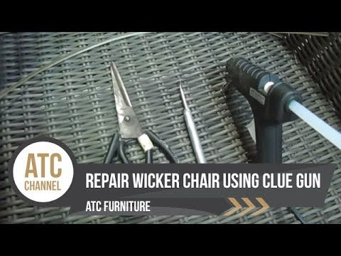 fix as some lawn chairs clue. how to repair resin wicker chairs using glue gun   atc furniture 2017 fix as some lawn clue