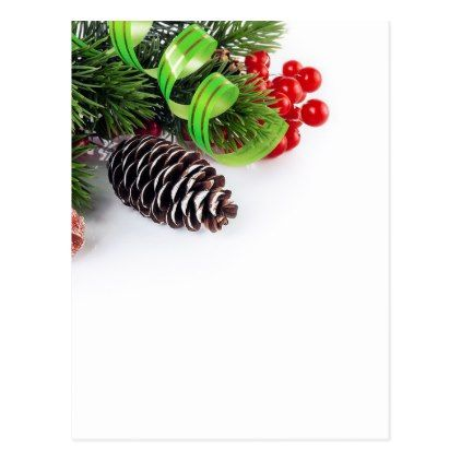 New Year Christmas Holiday Postcard - christmas cards merry xmas family party holidays cyo diy greeting card