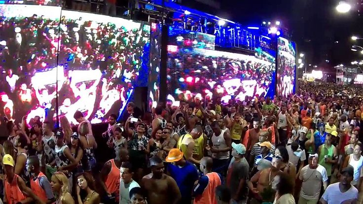 Bell Marques Sacudindo A Pipoca Em Ondina  Carnaval De Salvador 06 02 2016