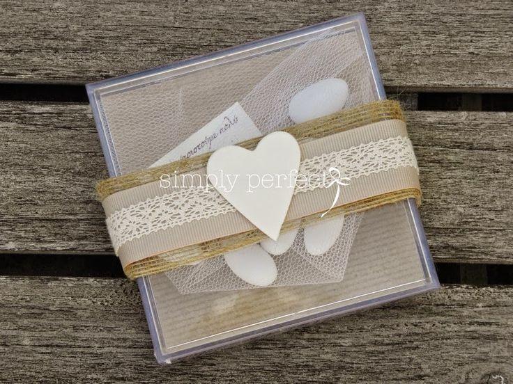 Μπομπονιέρες Γάμου-Wedding favors