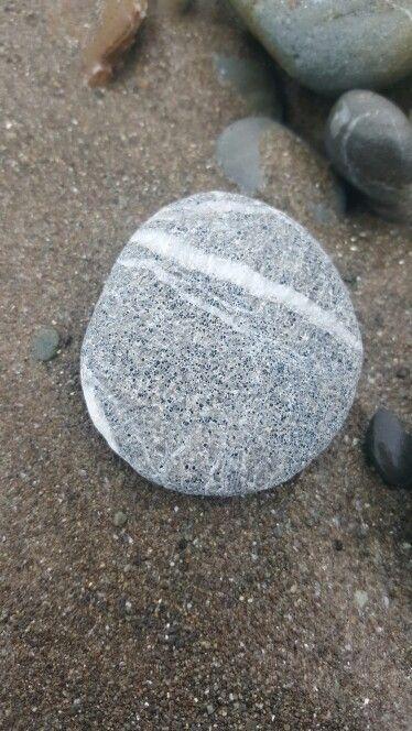 Concrete looking wishing stone