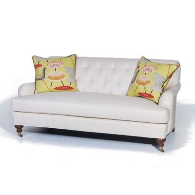 Being Priced   The Alexandra Sofa Is A Classic Sofa Has Top Of The Line  Detailing With Diamond Tufting And A Bench Cushion, From Wesley Hall  Furniture.