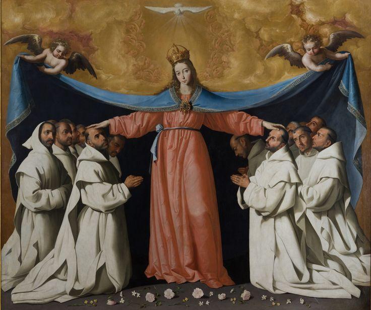 The Virgin of the Caves / La Virgen de las Cuevas //  ca. 1655 // Francisco de Zurbarán // Procedencia: Monasterio de la Cartuja de Santa María de las Cuevas. Sevilla // Museo de Bellas Artes de Sevilla  // #VirginMary
