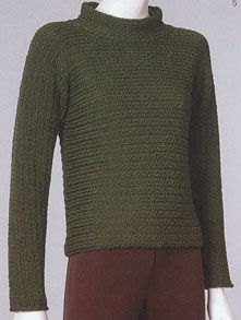 Vittadini Yarns Fall 2001 Vol 17  I made this pullover 15 years ago for a friend - I'm using it for my own patter inspiration
