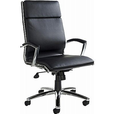 Florence High Back Executive Faux Leather Chair