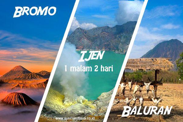 Paket Wisata Bromo Ijen Baluran (BIB) 2 Hari 1 Malam berdurasi 2 hari 1 malam cocok sekali menjadi alternatif liburan singkat anda.