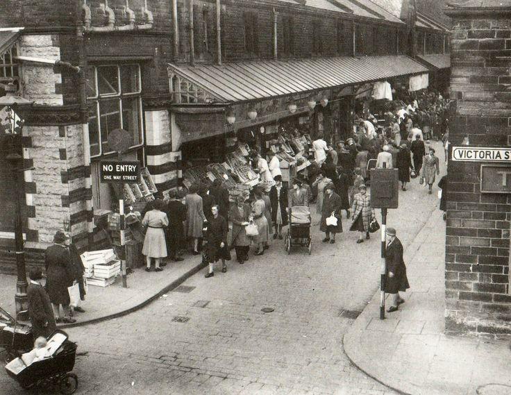 Shambles Lane, Huddersfield, 1946