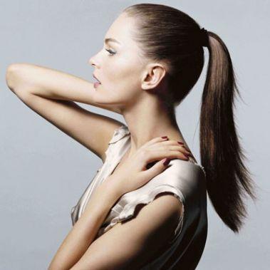 coiffure avec elastique