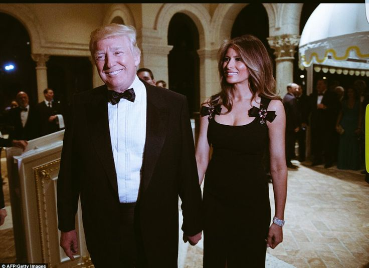 RNR Kentucky (@RNRKentucky)   Twitter........President-elect Trump and Melania celebrating #NewYearsEve. It will be nice to have beautiful First Lady again! #BestMemoriesOf2016 #MAGA
