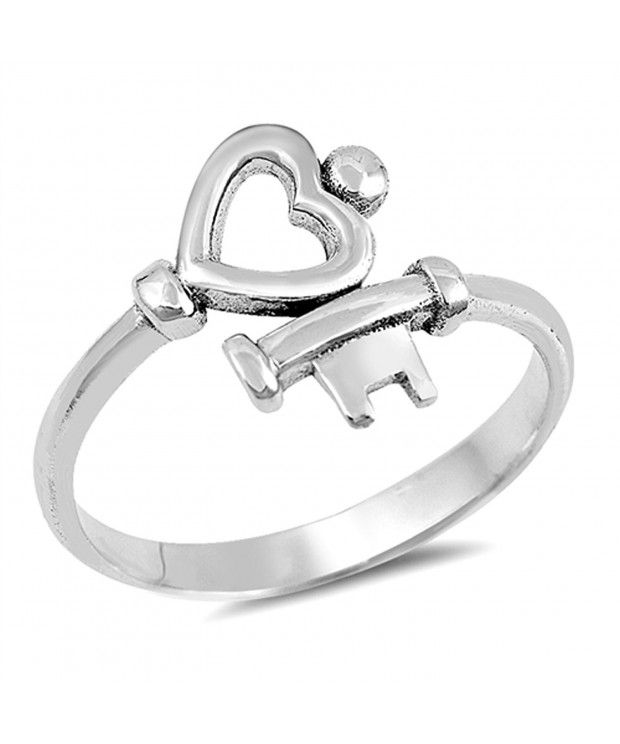 Heart Halo Promise Ring New .925 Sterling Silver Wedding Band
