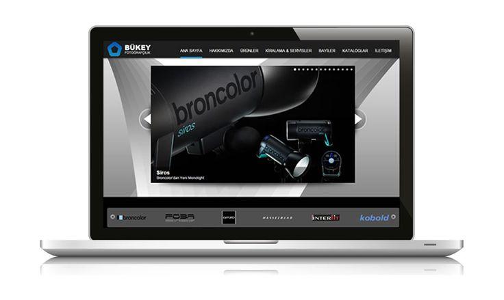 Yarım asırlık geçmişiyle fotoğraf sektörüne ürün sağlayan Bükey Fotoğrafçılık web sitesi yayında www.bukeyfoto.com