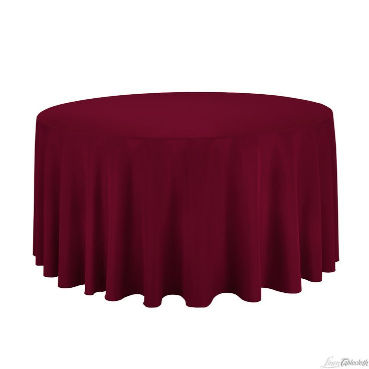 Buy 120 Inch Round Brown Burgundy Tablecloth For Weddings At  LinenTablecloth! Seamless And Machine Washable Table Linens, These Wedding  Tableclothsu2026