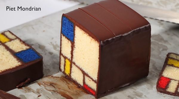 Modern Art Desserts: A Recipe Book Based On Iconic Artworks - DesignTAXI.com
