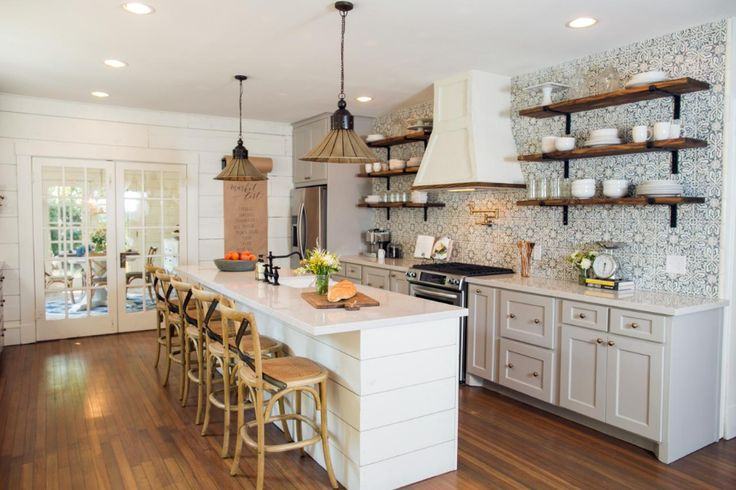 the most memorable kitchens by chip and joanna gaines in 2020 fixer upper kitchen farmhouse on kitchen layout ideas with island joanna gaines id=16244
