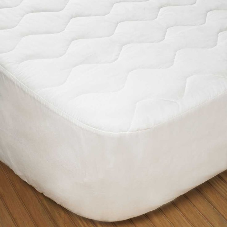 eco smart quilted twin xl mattress pad