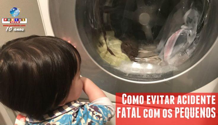 Depois que a criança foi encontrada morta dentro da lavadora automática, voltou à discussão como evitar acidente trágico.