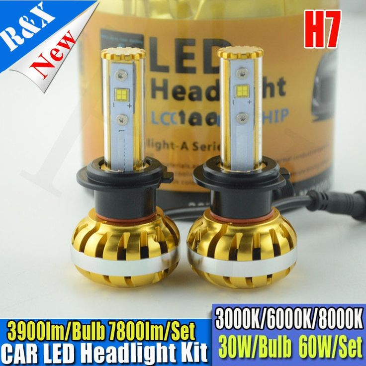 (54.99$)  Buy here - http://aig07.worlditems.win/all/product.php?id=32784835087 - CANBUS ERROR FREE Car Led H7 Headlight Bulbs 60W 7800LM Auto Headlamp Xenon White 3K 6K 8K Fog Driving Head Light Conversion Kit