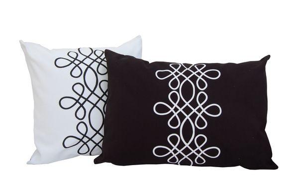 biało-czarna arabeska