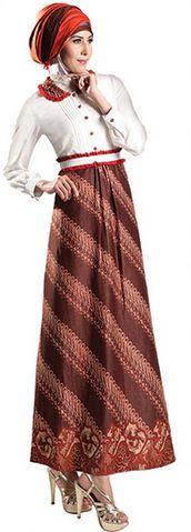 Baju Batik Muslim Remaja Modern