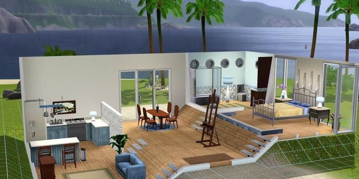 17 best images about case the sims 3 on pinterest the sims home and glass design - The sims 3 case moderne ...