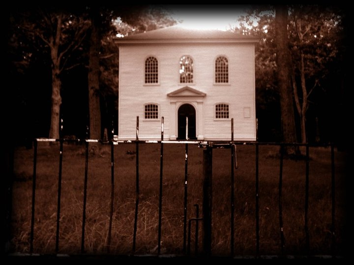 A supposedly haunted church still stands today in Brooklyn, CT. When you stand outside the gate you can feel the lives lost