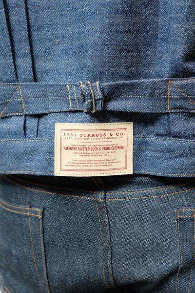 Levis`s Vintage Clothing 1880 Triple Pleat Blouse Jacket