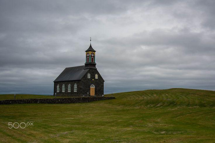 stafnes hvalsneskirkja - the beautyful church in stafnes, named  hvalsneskirkja, situated in the southwest of rekjanesta.