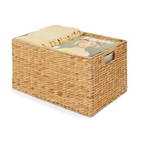 Woven Storage Basket - Rectangle | Kmart