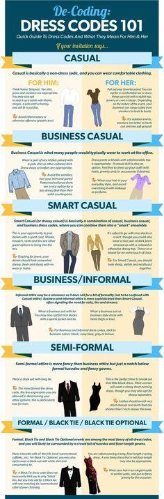 Dress Code 101
