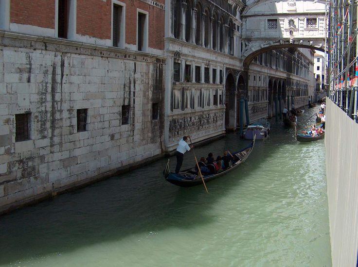 Sóhajok hídja, Velence, Olaszország