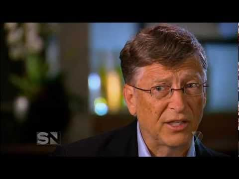 This video shows Bill Gates in an interview discussing charitable donations. As a part of a large-scale philanthropy, Gates and a group of other billionaires made a pledge to donate at least HALF of their wealth to various charities. As a student with aspirations of going into the tech field, I think Gates is an inspiration to us all. His value system is integral to his success and he is proof that even all the money in the world cannot corrupt a true value system.