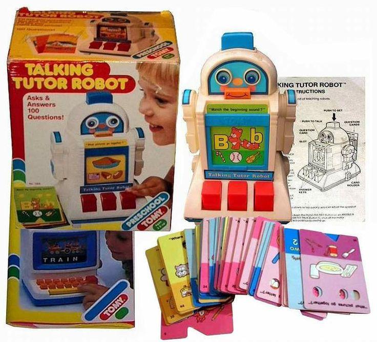 Tomy Talking Tutor Robot