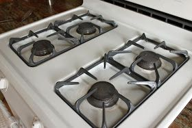 cleaning stove grates, using ammonia to clean stove grates, stove deep cleaning, how to clean stove grates, how to clean stove grates with ammonia
