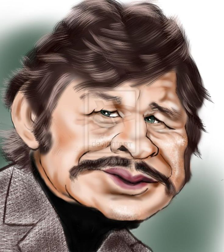 Celebrity Caricatures - Cartoon Drawings of Famous People