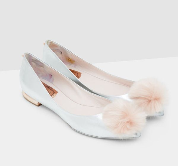 Oh my .... These are the prettiest shoes EVER ad they're reduced in the Ted Baker sale 💗