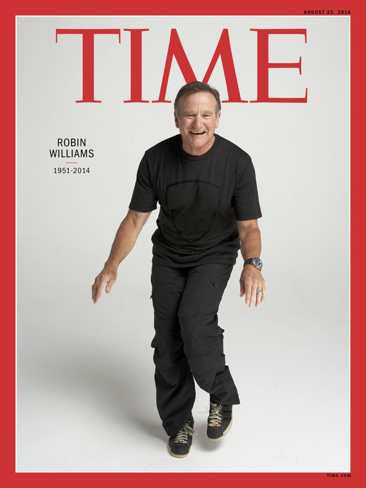 Remembering Robin Williams (1951–2014) || TIME || On sale beginning Friday 15 August